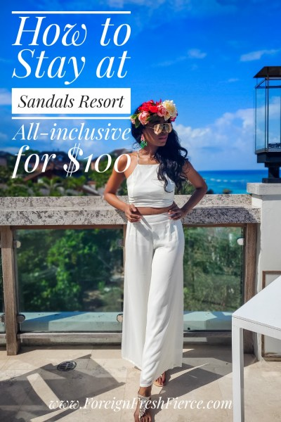 How to Stay at Sandals Resorts for $100