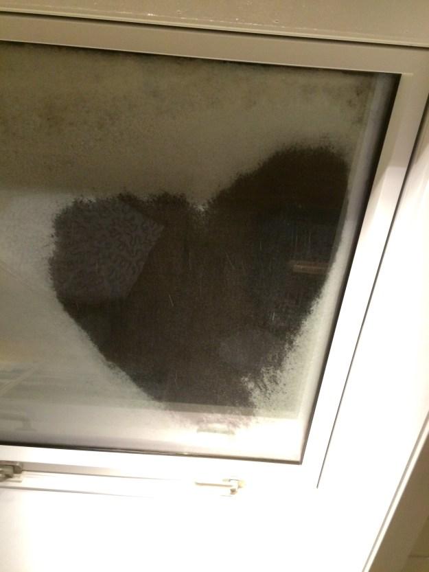 Hjertet i snøen
