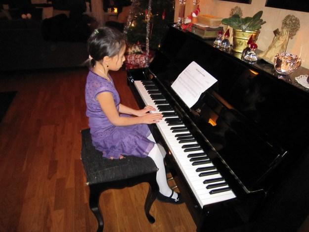Gabriela julen 2008, 7 år gammel