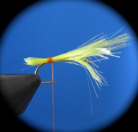 Fliegenbinden Elk Hair Caddis1