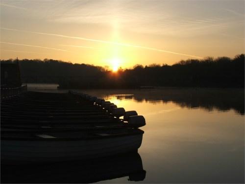 Eyebrook Reservoir - Bootflotte © Eyebrook Trout Fishery