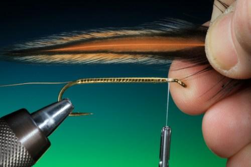 Forelle Äsche Fliegenbinden Barry Ord Clarke Matuka Streamer10
