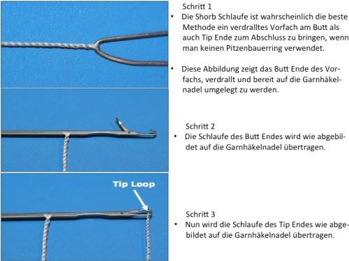 Fliegenfischen Verdrallte Vorfächer