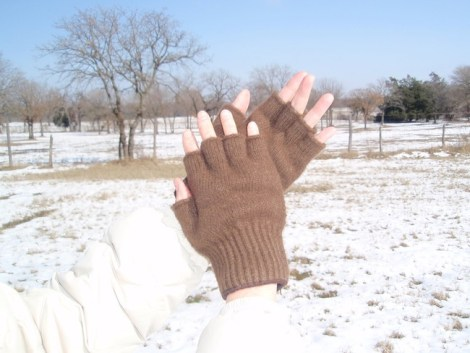 Bison Handschuhe
