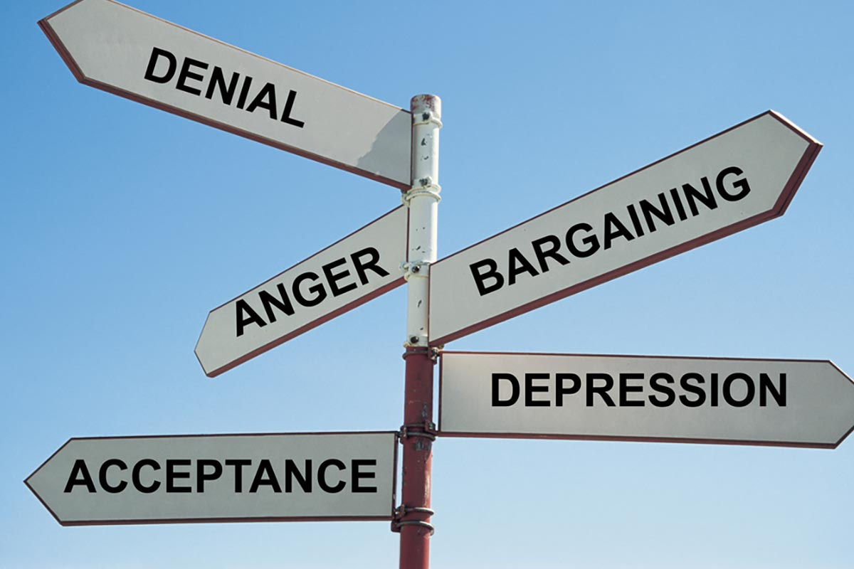 Avoiding The Five Stages Of Grief For A Successful