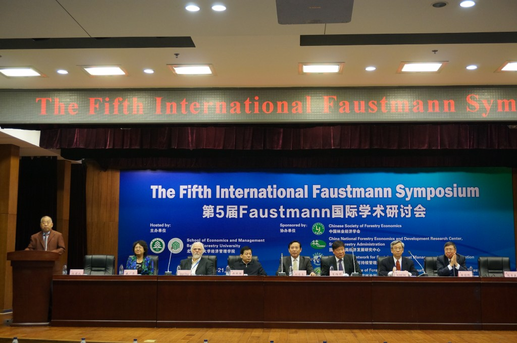 Opening of Faustmann Symposium