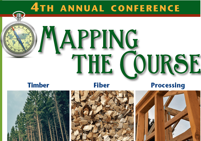 wood industry mapping the course