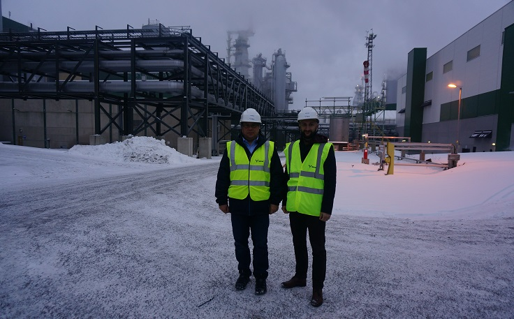 Together with professor Jacek Siry, we had a chance to visitMetsä Group's bioproduct mill in Äänekoski during2017 Bioeconomy Investment Summit.