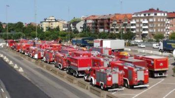 Szwedzkie pożary leśne