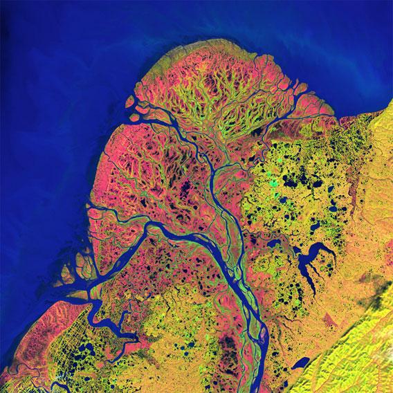 ¡Cómo hemos cambiado!: 40 años de imágenes Landsat
