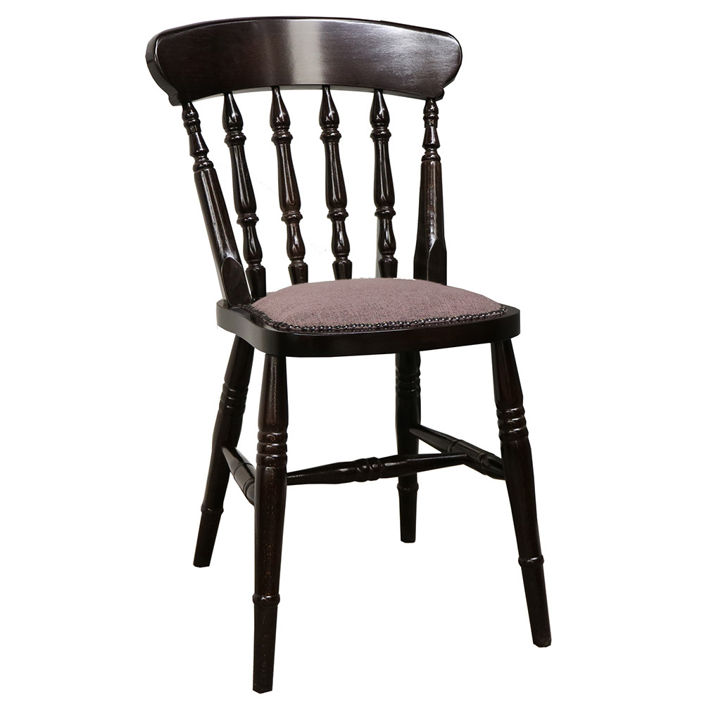 Farmhouse Upholstered Side Chair  Forest Contract