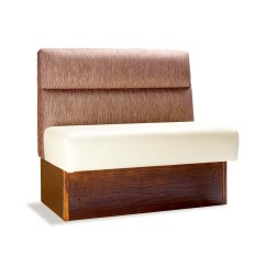 Restaurant Sofa Booth Seating Square Design Head Roll Banquette Forest Contract