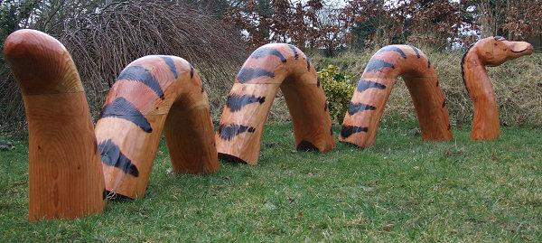 CHILDRENS SCHOOL PLAYGROUND Activity Sculpture Sea Monster