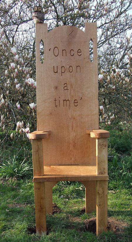 OAK STORY TELLING Chair  SchoolsPlaytime Find Story