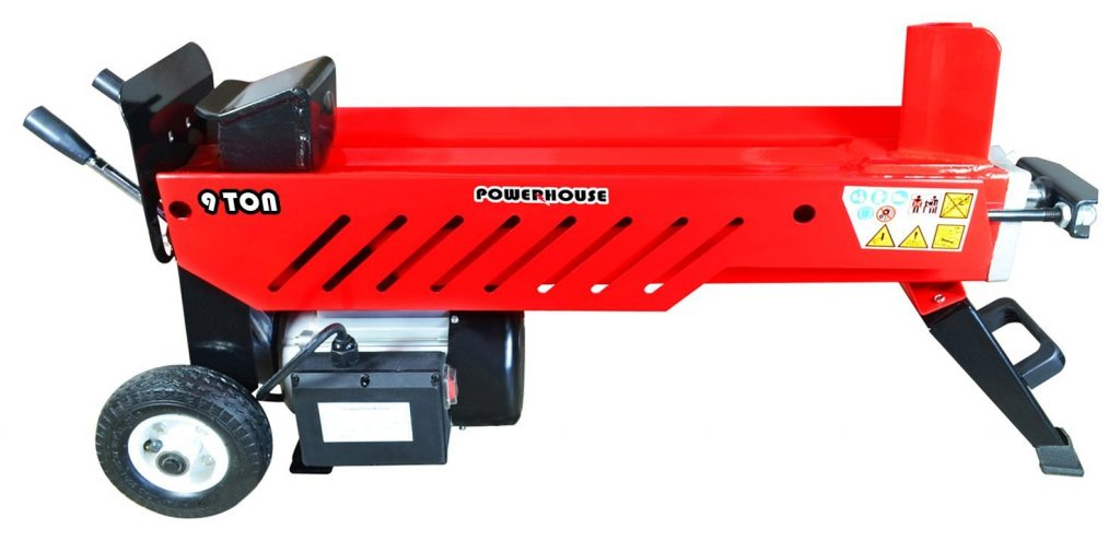 Powerhouse_9_Ton-Electric_Hydraulic_Horizontal_log_splitter