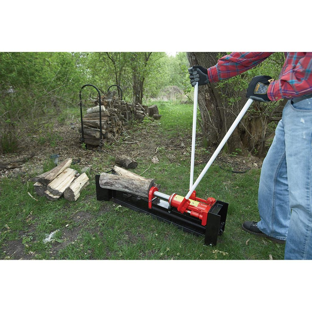 Wel-Bilt_10-Ton_Horizontal_Manual_Hydraulic_Log_Splitter