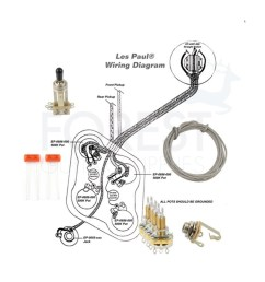 wiring kit for gibson les paul guitars switchcraft cts sprage les paul wiring diagram 50 s les paul wiring kits [ 1000 x 1000 Pixel ]
