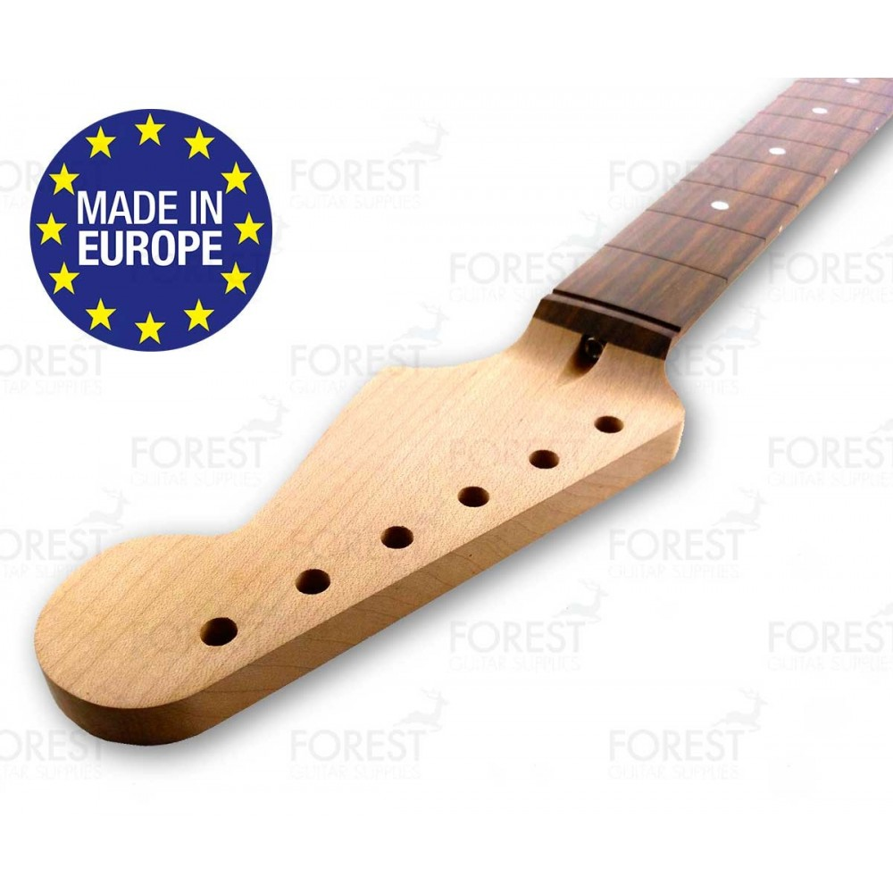 medium resolution of fender stratocaster electric guitar neck hard maple indian rosewood fretboard 9 5 radius