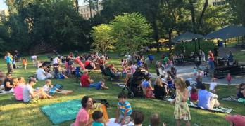 Upcoming family events in Van Ness/Forest Hills: Neighborhood social and performances