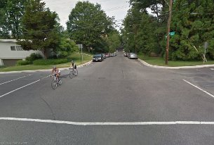 Google Streetview image of 31st and Brandywine.
