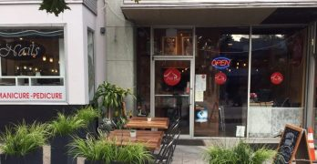 Thai Pad's sidewalk cafe is open for business