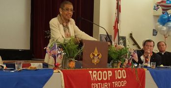 Boy Scout Troop 100, DC's oldest, marks its first century