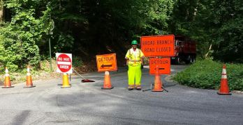 Short-term repairs to Broad Branch Road as long-term rehab planning continues