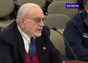 David Bardin UDC education hearing