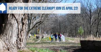 Earth Day cleanups in North Cleveland Park, Van Ness, Forest Hills and Tenleytown