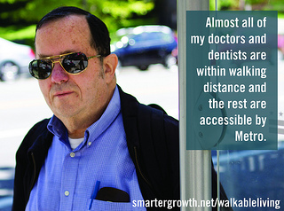Jeffrey, of Chevy Chase (photo provided by the Coalition for Smarter Growth)