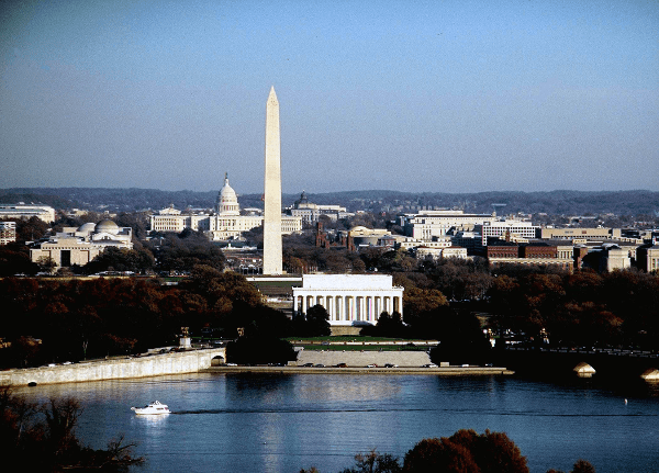 Some of DC's most-photographed sights. (photo by E. David Luria)