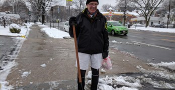 A Forest Hills snow day: A few everyday heroes, and some lovely snow-covered scenes