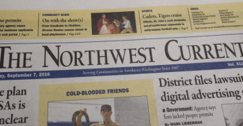 Where is the Northwest Current? Look for it Thursdays now