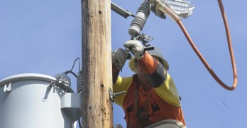What caused some of the lights to go out in Forest Hills last week