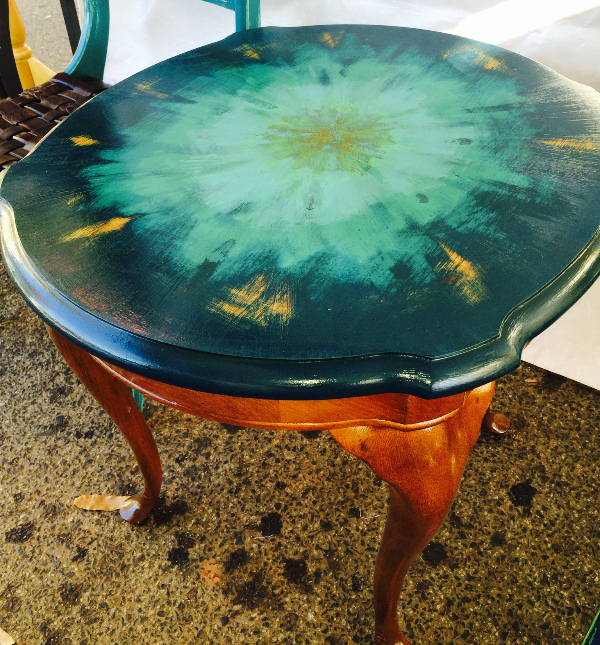 RaReR painted table