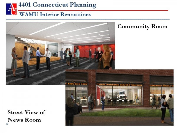 And for reference, here's the architect's rendering from American University's presentation to ANC 3F in January.
