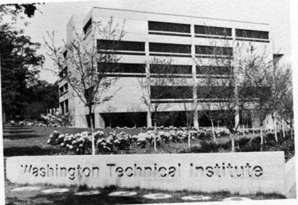 WTI concrete sign. From UDC's 1975-76 annual report: