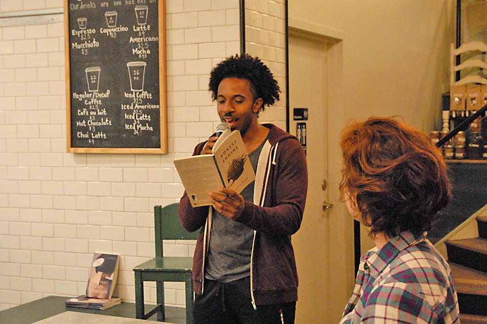 Poet and AU Professor Kyle Dargan at Bread Furst