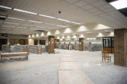 The basement of the Forest Park Public Library is seen going through renovations on Monday, Sept. 30, 2019, on Des Plaines Avenue in Forest Park, Ill. | ALEX ROGALS/Staff Photographer