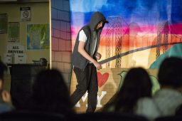 Proviso Math and Science Academy (PMSA) students perform In the Heights, a Lin-Manuel Miranda musical, on Nov. 7, 8 and 9. | Alex Rogals/Staff Photographer
