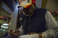 Fred Bryant, owner of Accents by Fred, makes miniature silver origami jewelry. | Alex Rogals, Staff Photographer