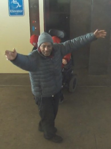 Forest Park police are trying to identify the alleged suspect of a CTA Blue Line robbery on Dec. 5, 2019. Any information can be sent to detectives@forestpark.net or reported to 708-366-2425. | Photo provided