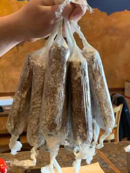 Gaetano's has added gourmet market items to their offerings, including homemade sausage. | Photo provided
