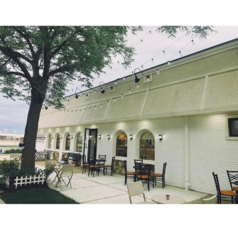 Charlie's Restaurant, 7427 Roosevelt Rd., set up an outdoor patio to welcome outdoor diners on May 29. | Photo provided