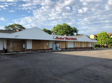 Cardinal Wine & Spirits, 7533 Roosevelt Rd., boarded its windows on June 1 in a precautionary measure against looting.