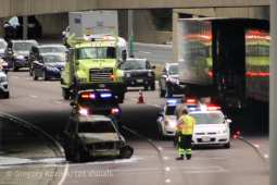 A fatal accident occurred on the I-290 expressway on July 22 at 2:08 p.m. | Photo courtesy of Greg Kozlick