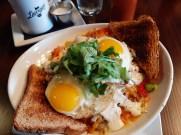 Lavergne's breakfast bowl is a hearty menu option.