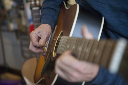 Ivanovic Danche of Danche Guitars received an Illinois Made award through the state. | Alex Rogals, Staff Photographer