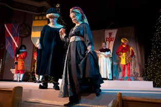 Ed LoBue and Helen Jensen were among the Lords and Ladies with the King. (David Pierini/staff photographer)