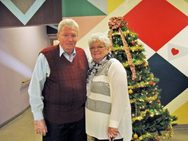 Joe and Sandy Byrnes are full of New Year joy. (JACKIE SCHULZ/Contributor)